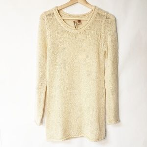 Eyeshadow Shimmery Sweater Sequins Cream Small